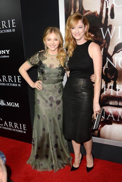 Chloe y Judy, terminaron siendo grandes amigas tras la filmación.