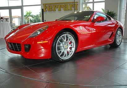 El 599 ya está en los showrooms, aunque ya no hay por que está en lista...