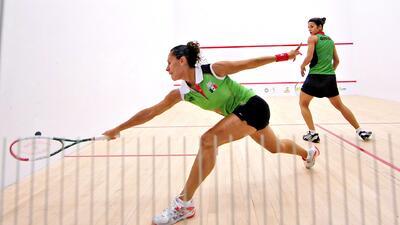 Los secretos de Samantha Terán para salir campeona en squash en los Juegos Centroamericanos