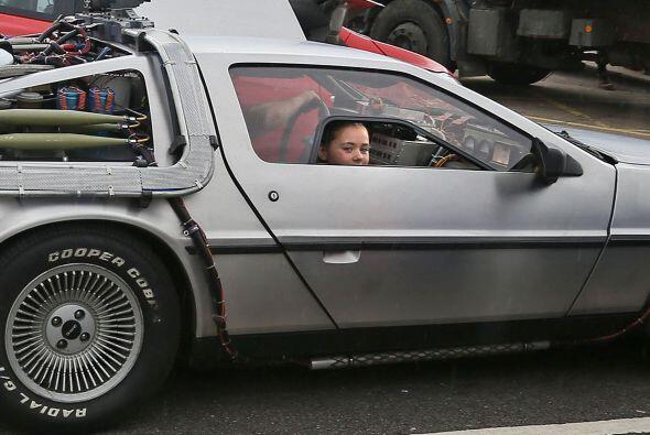 ¿Te imaginas llegar a tiempo a todas tus clases gracias al DeLorean de l...