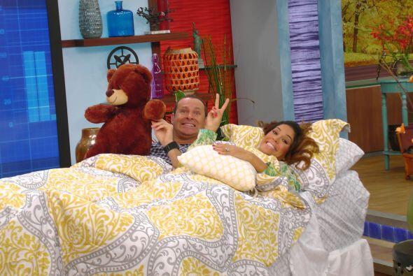 Y mientras Anita dormía, Alan y Karla nos mostraron algunos trucos para...