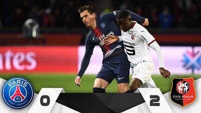 Rennes sorprende de visita y vence al PSG