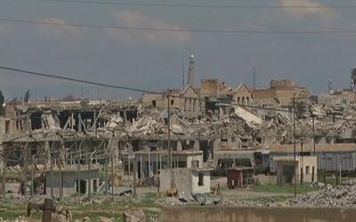 Estado Islámico destruye la mezquita donde declaró el comienzo de su cal...