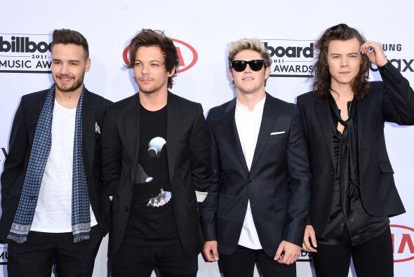 Esta podría ser la primera alfombra en América en la que One Direction a...