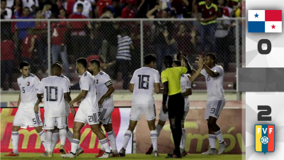Con doblete de Salomón Rondón, Venezuela superó 2-0 a Panamá