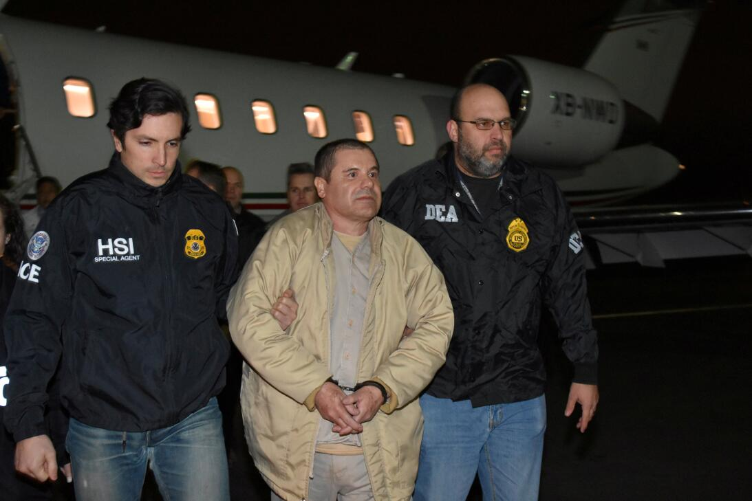 Llegada de Chapo a EEUU