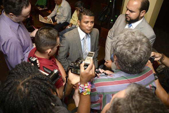 Decenas de medios de comunicación se dieron cita en la conferenci...