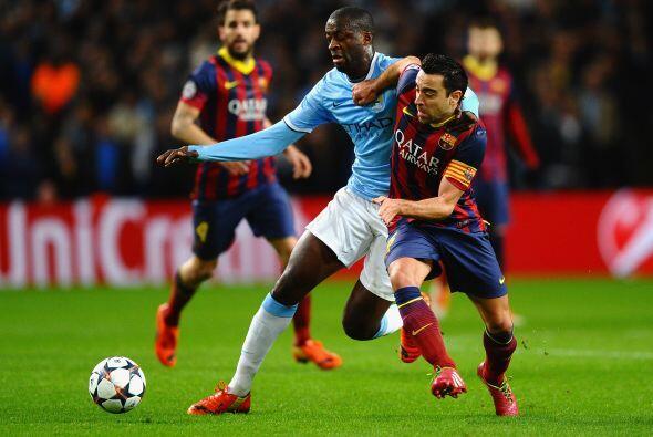 Yaya Touré demostró su fortaleza ante sus ex compañeros.