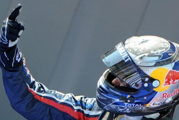 Vettel parece encaminado a su segundo título mundial consecutivo.