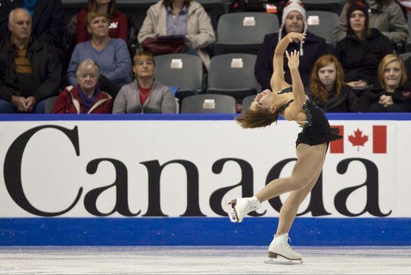 También de Canadá. Amelie Lacoste.