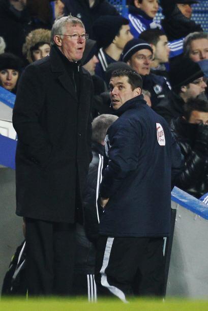 Para Sir Alex Ferguson el empate final a tres tantos le agradó por la ac...