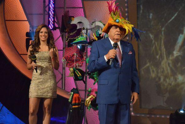 Aleyda ayudó a Don Francisco a elegir el primer sombrero que usará con E...