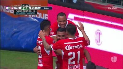 ¡GOOOL! Alexis Canelo anota para Toluca