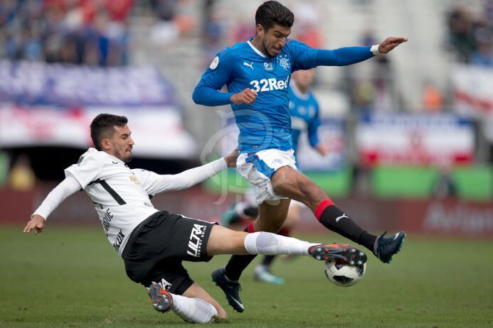 Corinthians 2-[4] Rangers: Eduardo 'Lalo' Herrera fue titular co...