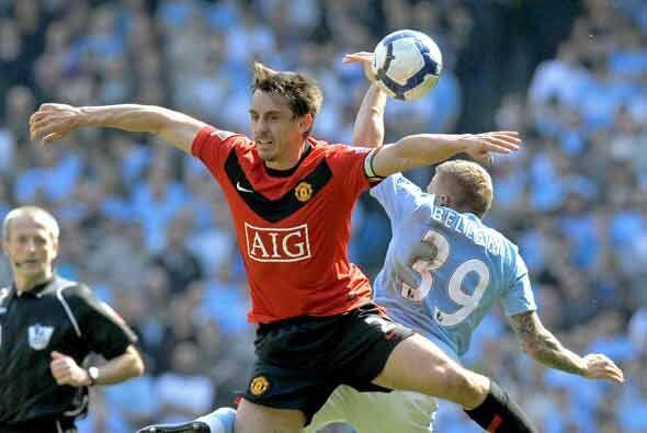 En el 'Derby'de Manchester se enfrentaron el United y el City.