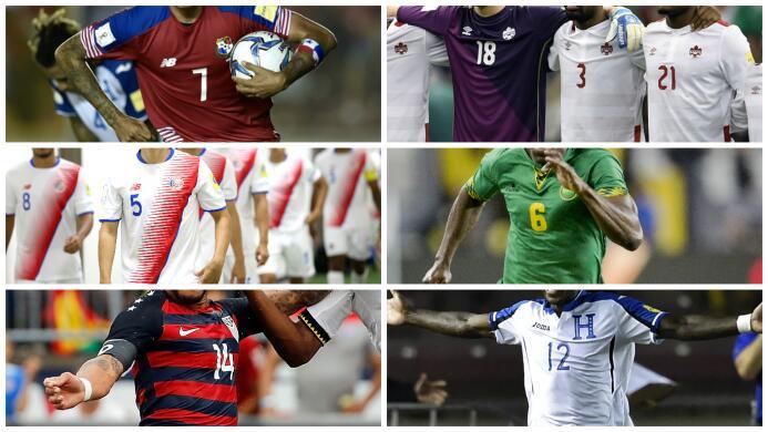 Estas son las espectaculares camisetas que verás en Copa Oro 2017 jersey...