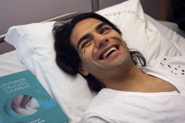 El 25 de enero Radamel se operó en Portugal, la esperanza del colombiano...