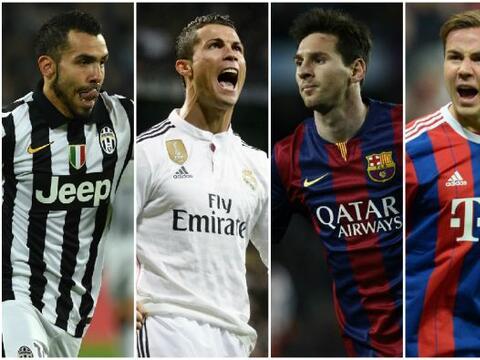 Se vienen las semifinales de la Champions League con dos duelos estelare...