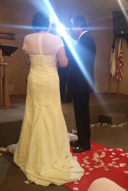 Fue un momento muy especial para don José y doña Rosa María.