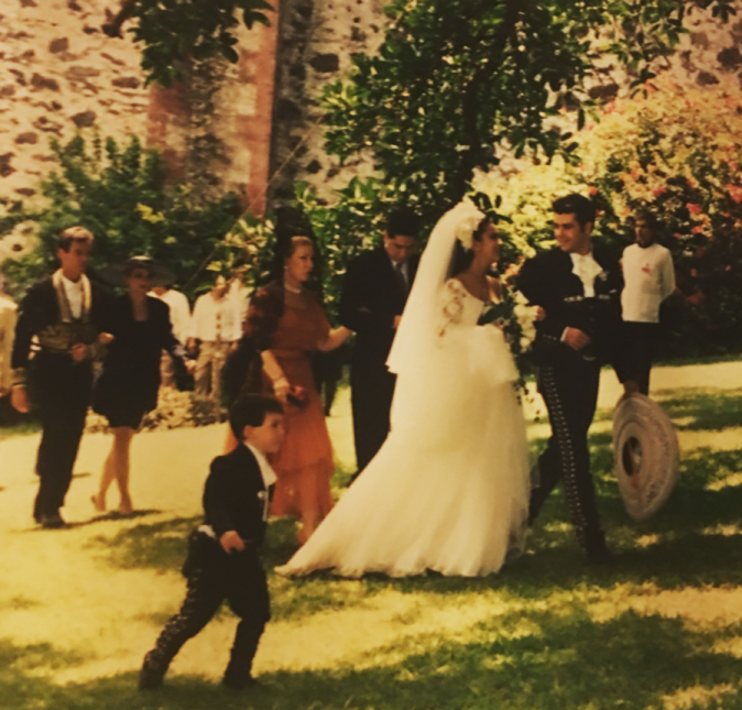 Biby Gaytán y Eduardo Capetillo en su boda