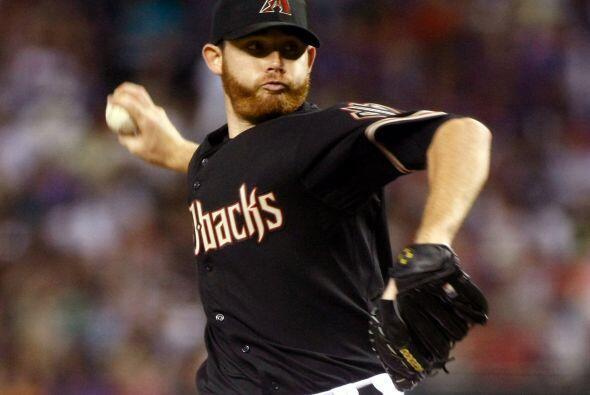 JUGADOR CLAVE: Ian Kennedy. El lanzador de Arizona logró 21 victorias en...