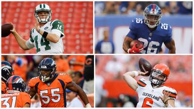 ¿Quiénes son los novatos de la camada de 2018 de los que se espera más en la NFL?