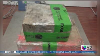 Decomisan cargamento de heroína con un valor de más de 300,000 dólares