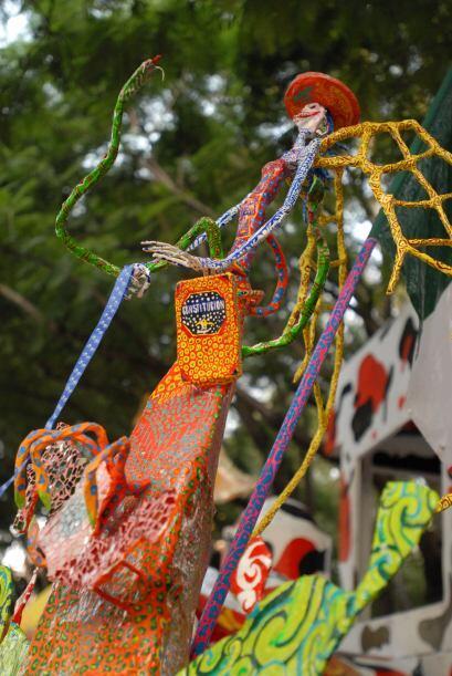 Por cuarto año consecutivo, en la Ciudad de México reinaron los alebrijes.