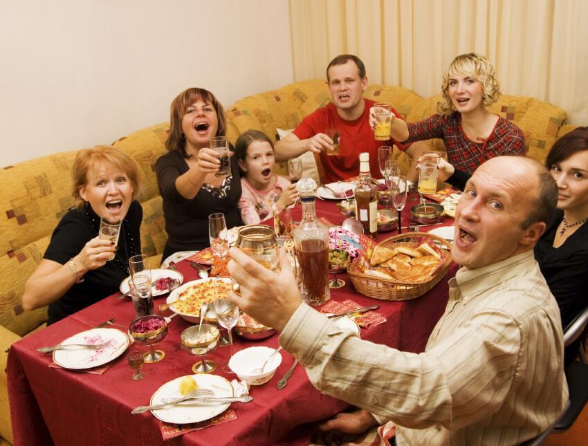 Dinámicas familiares para dar gracias