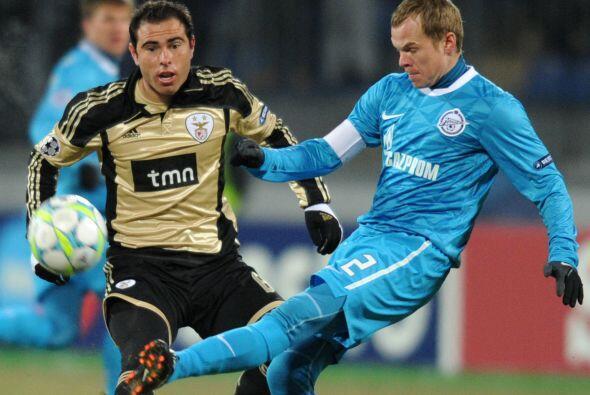 El Zenit no se dio por vencido y buscó el empate desde la primera parte.