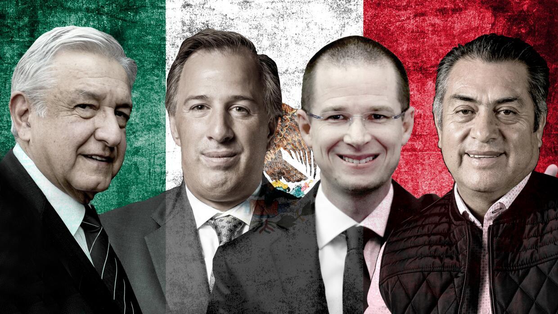Margarita Zavala, Andrés Manuel López Obrador, José Antonio Meade, Ricar...