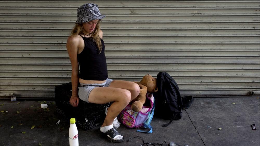 Indigentes en Los Ángeles