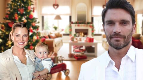 Julián Gil tendrá un regalo en su árbol de navidad...