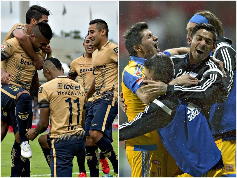 Pumas y Tigres pelearán por el título del Apertura 2015 de...