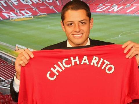 La magia de Javier Hernández con el Manchester United parece esta...