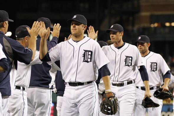 Los Tigres de Detroit llegaron a la postemporada tras conquistar el títu...