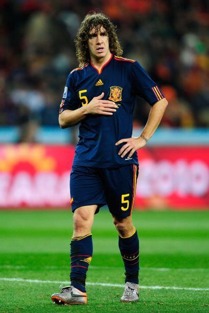 Carles Puyol.- El capitán del Barcelona y el indiscutible líder de la za...