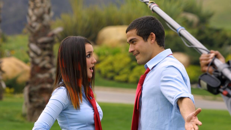 Dulce María y Alfonso Herrera en Rebelde