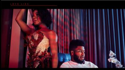 Singers Normani and Khalid appear on the cover art for their new single,...