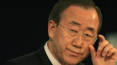 Ban Ki-moon, el Secretario General de la ONU, fue insultado por el más a...
