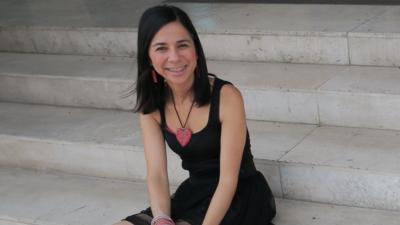 """La periodista colombiana feliz con su """"opción de vida"""""""