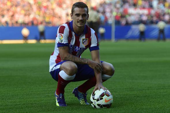 El francés Antoine Griesmann llega al Atlético buscando suplir el sitio...
