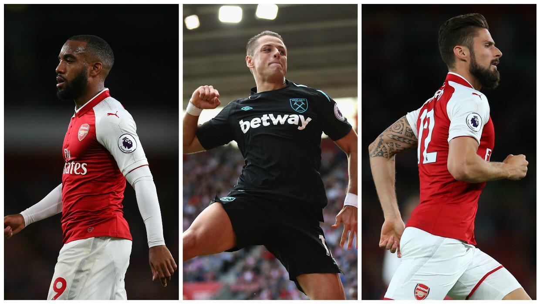 Arsenal y West Ham son equipos distintos con delanteros distintos.