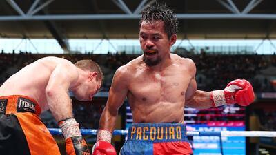 """Pacquiao tiene """"un 90%"""" de posibilidades de enfrentarse a Broner"""