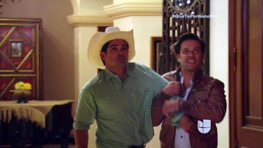 ¡Mateo se sacrifica para salvar a Diego!