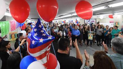 Primarias en California: así se vivió la jornada electoral de este martes en la sede demócrata
