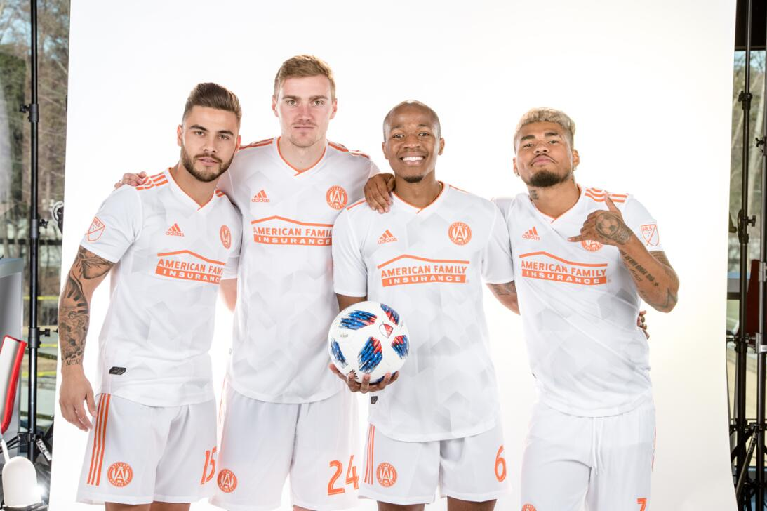 Atlanta United uniforme alternativo temporada 2018