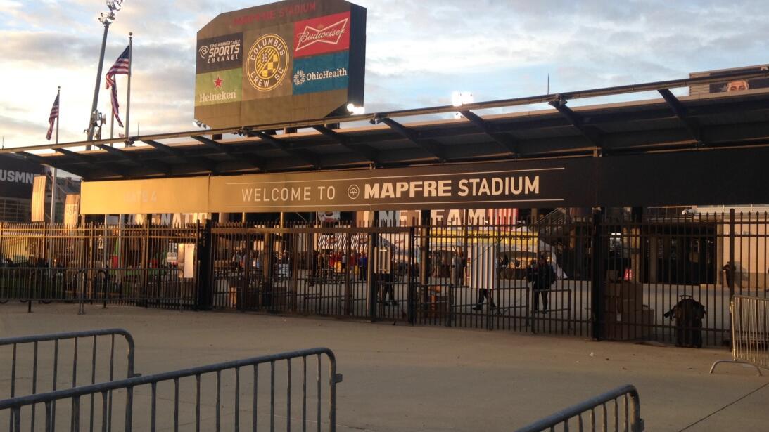 Como cada cuatro años, el Mapfre Stadium abre sus puertas para el duelo...