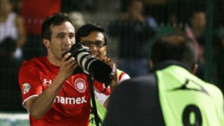 Amione anotó el gol de Toluca.