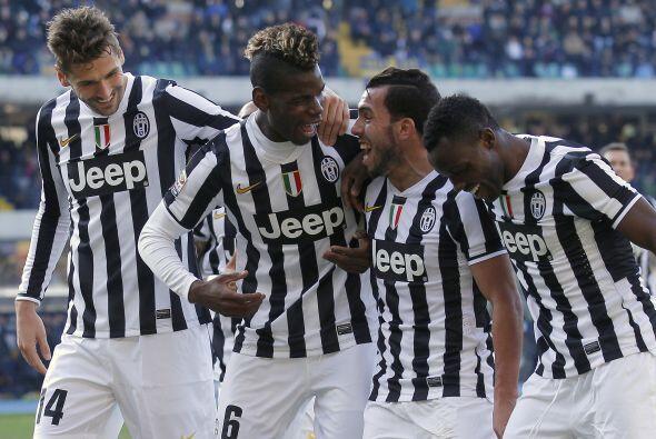 10. Juventus (Italia) 279.4 millones de euros en ingresos durante la tem...
